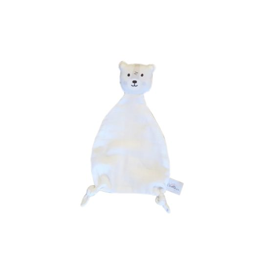 doudou ours blanc carotteetcie